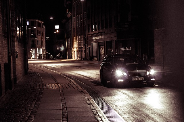 jízda ulicí