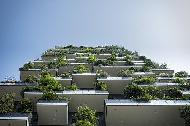 zelené balkony